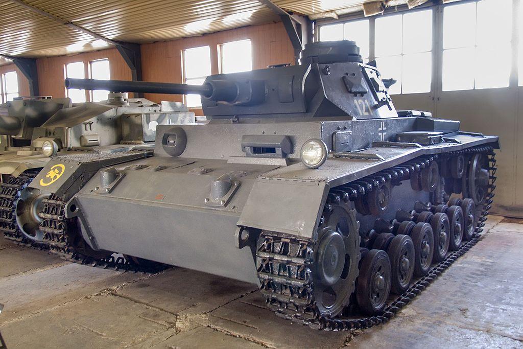 Pz.Kpfw.III Ausf.J1 в Бронетанковом музее в Кубинке