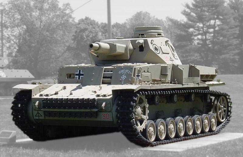Музейный Pz.Kpfw.IV Ausf.D с дополнительным бронированием