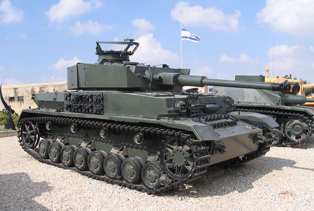 Танк Pz.Kpfw. IV Ausf. J (Музей бронетехники — Латрун, Израиль)
