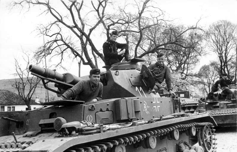 Танк Pz.Kpfw.IV Ausf.E. Югославия, 1941 год.