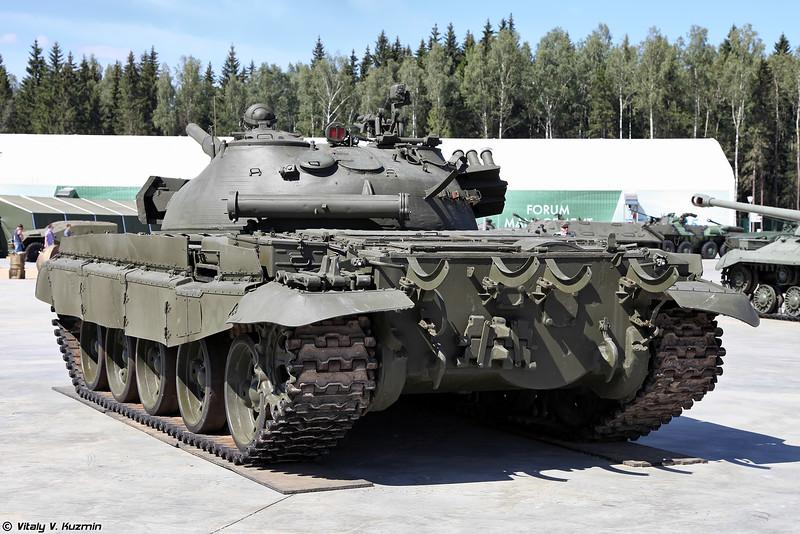 Вид на корму Т-62