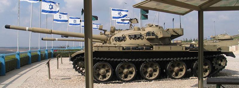 Танк Т-62 (после модернизации - Tiran 6) в Музее Израильских танковых войск (Латрун)