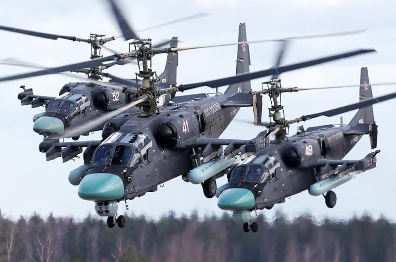 Ка-52 'Аллигатор' - ударный вертолет