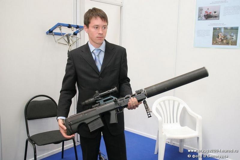 ВССК «Выхлоп» - снайперская винтовка 12,7 мм