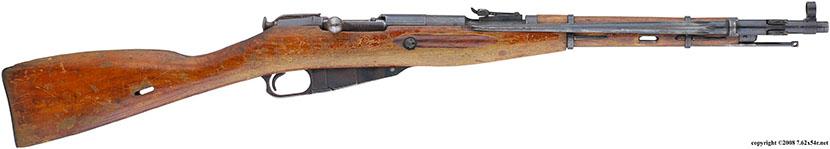 Карабин обр. 1944 года с несъёмным игольчатым штыком