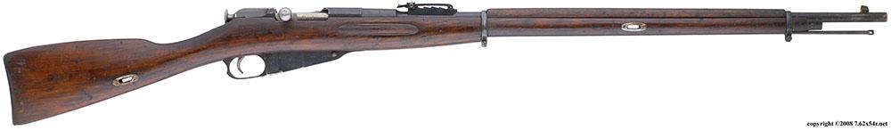 Трёхлинейная винтовка образца 1891 года с прицелом системы Коновалова