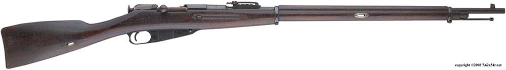 Трёхлинейная винтовка образца 1891 года произведенная компанией Remington