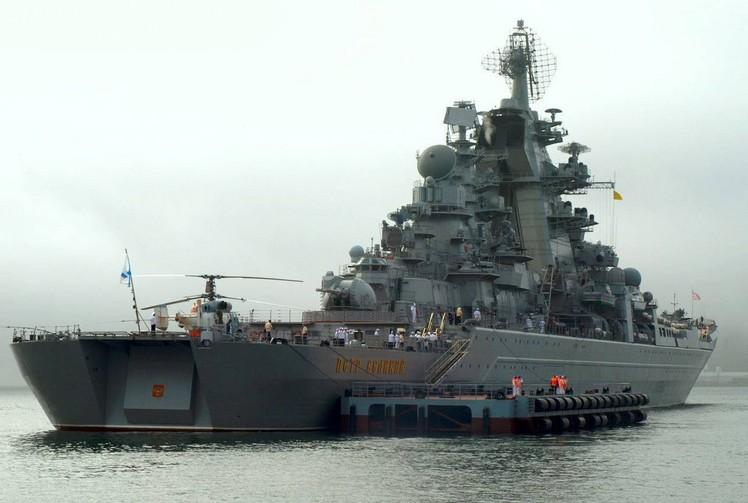 Крейсер «Петр Великий» проекта 1144 «Орлан» - тяжелый атомный ракетный крейсер (ТАРКР)