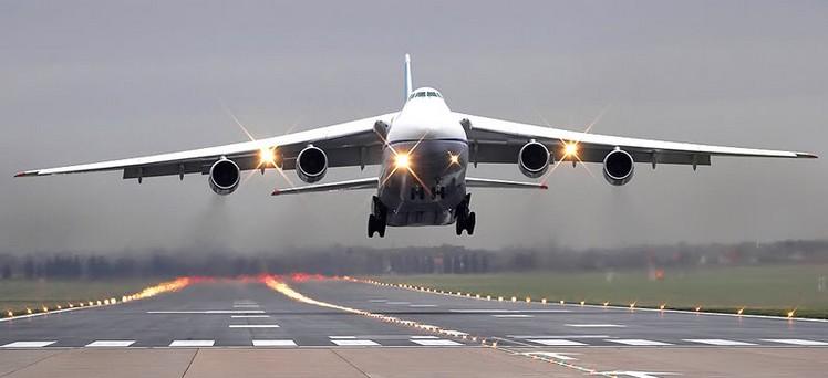 Взлет Ан-124 'Руслан'