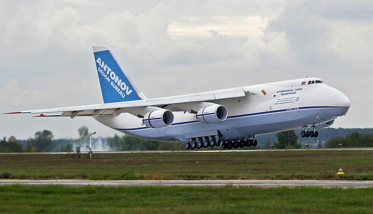 Ан-124 «Руслан» - военно-транспортный самолет