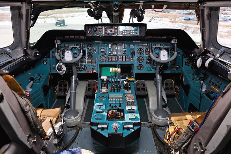 Кабина Ан-124 Руслан