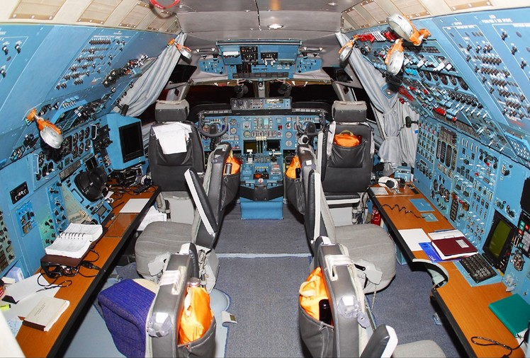 Кабина Ан-124 'Руслан'