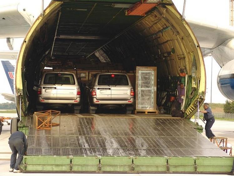 Внутри Ан-124 'Руслан'