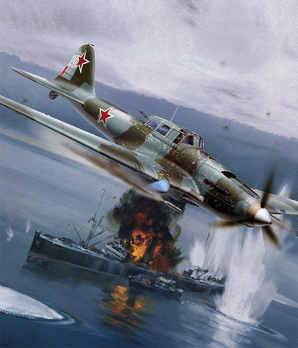 Ил-2 'Летающий танк' - советский штурмовик