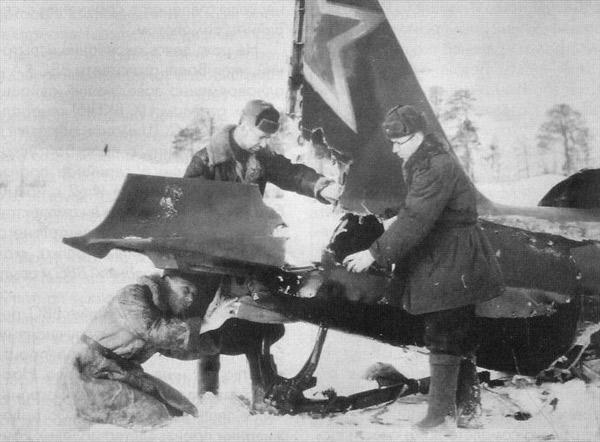 Ил-2 получившие повреждения в бою