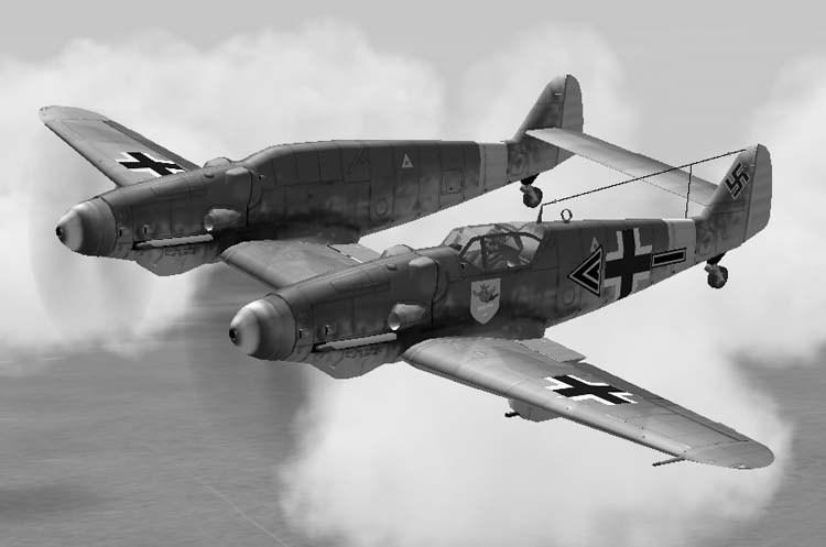 Messerschmitt Bf.109Z Zwilling