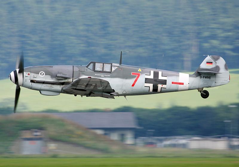Мессершмитт Bf 109 (Ме-109) - немецкий истребитель Второй мировой войны