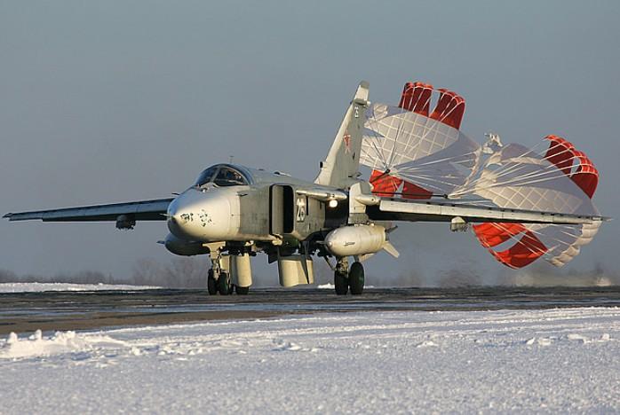 Бомбардировщик Су-24М