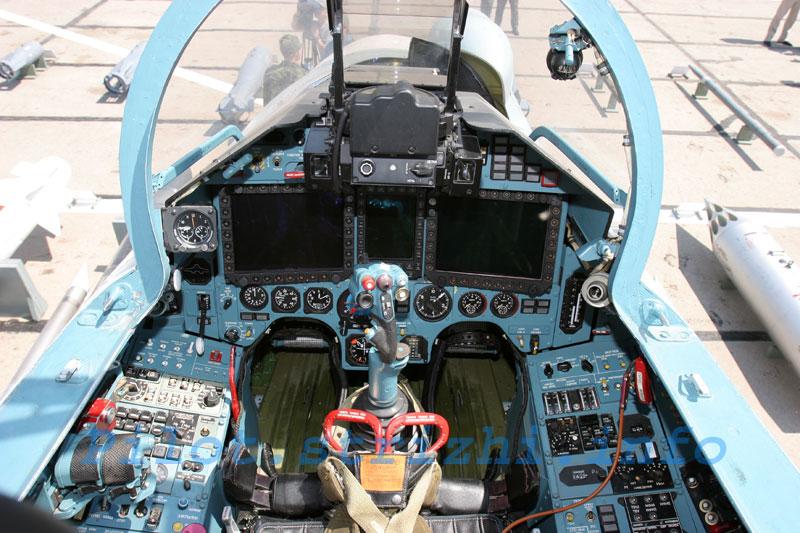 Кабина Су-27СМ
