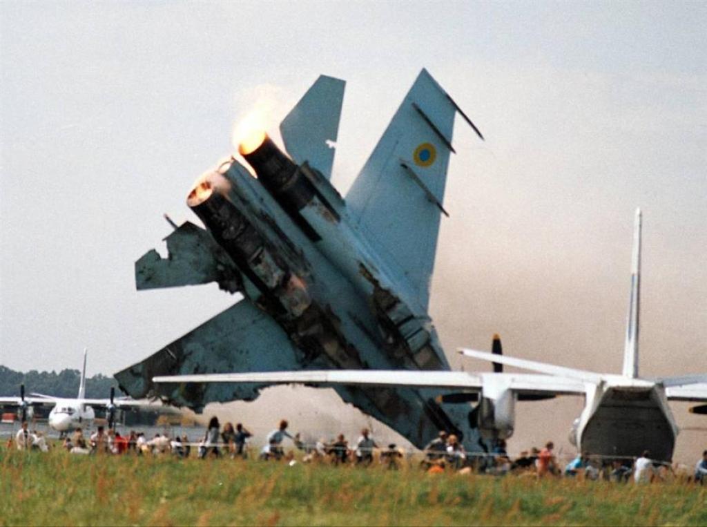 Катастрофа Су-27 во Львове в 2002 году