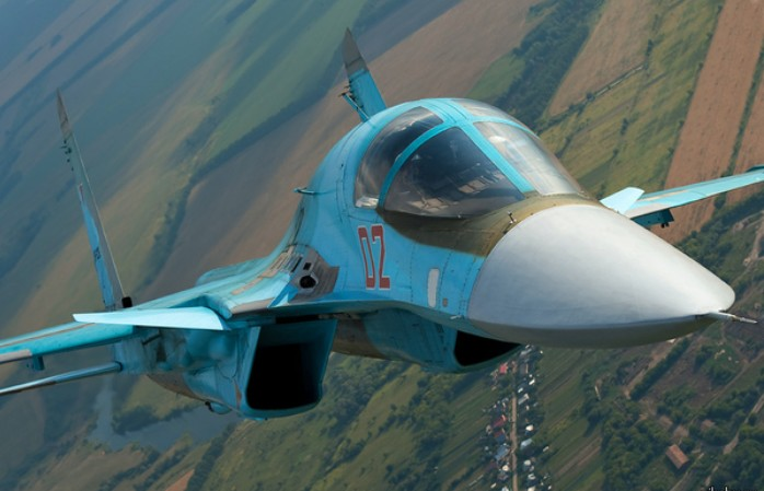 Су-34 Фронтовой бомбардировщик
