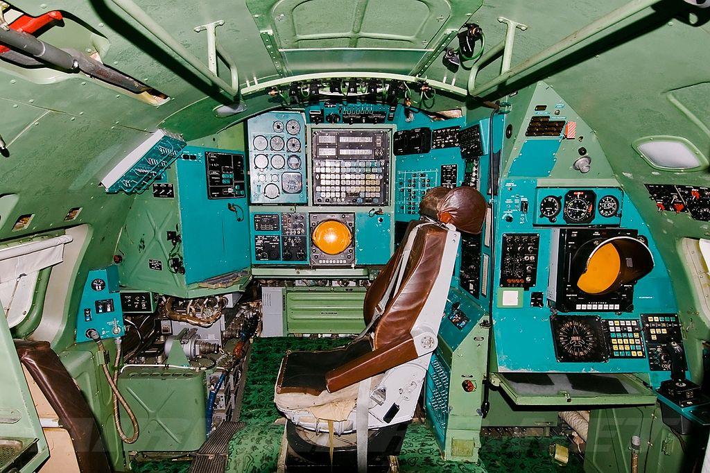 Место штурмана Ту-95МС