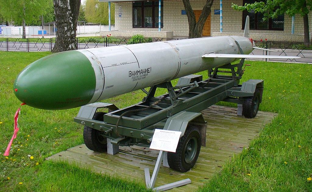 Ударное оружие Ту-95МС — крылатые ракеты Х-55