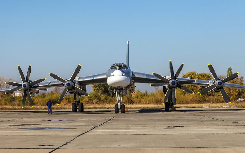 Ту-95МС «Медведь» - стратегический бомбардировщик-ракетоносец