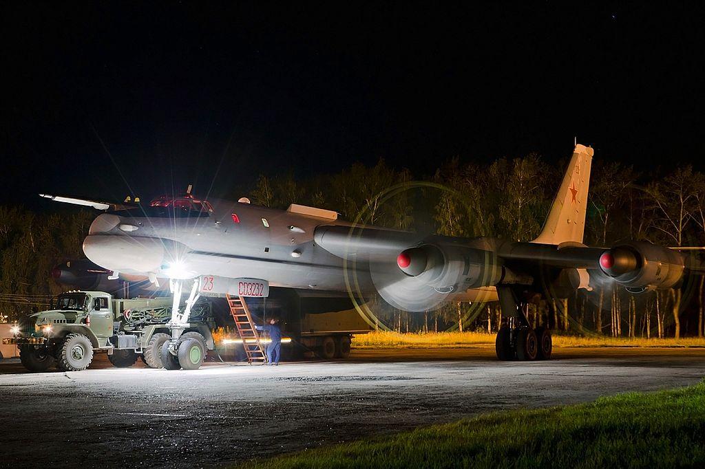 Туполев Ту-95-142, Рязань - Дягилево RP129470