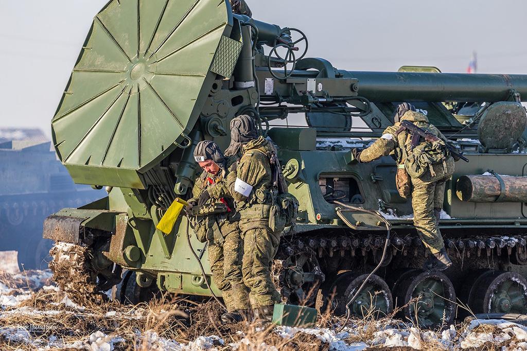 2С4 «Тюльпан» - 240-мм самоходная миномётная установка