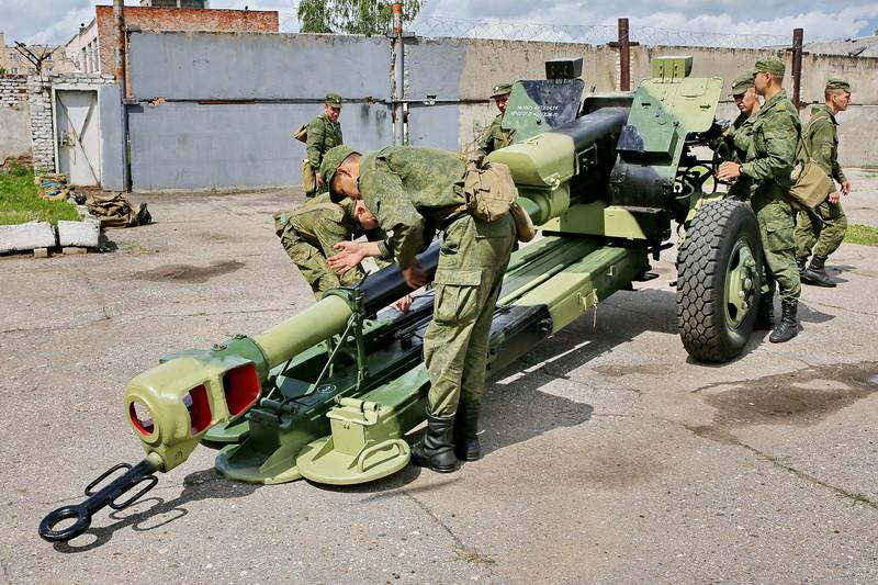 Д-30 - буксируемая гаубица калибр 122-мм