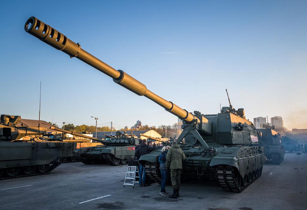 САУ 2С35 «Коалиция-СВ» - самоходная гаубица калибр 152-мм