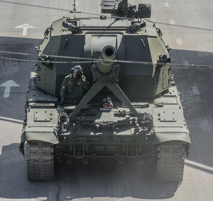 САУ 2С35 «Коалиция-СВ» - 152-мм самоходная гаубица