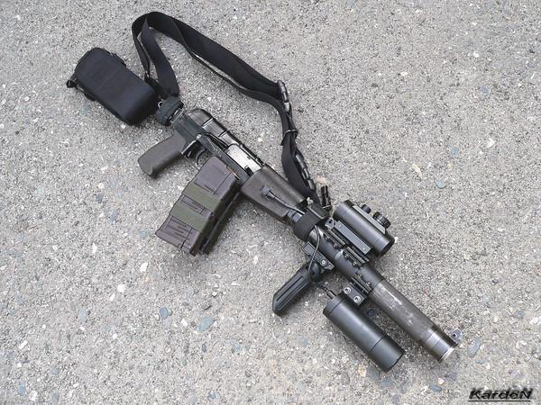 Вал - бесшумный автомат калибр 9-мм