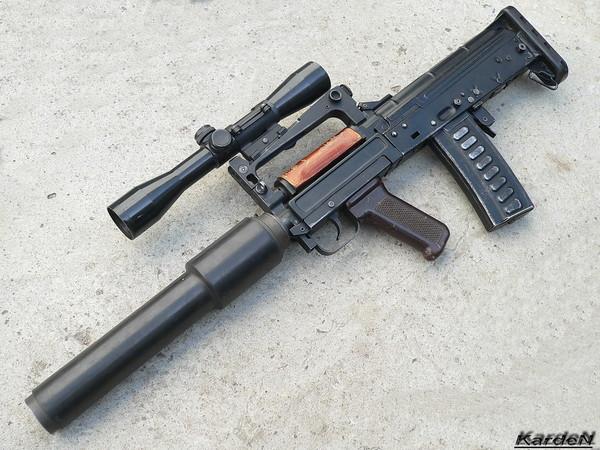 Фото ОЦ-14 «Гроза» стрелково-гранатомётного комплека