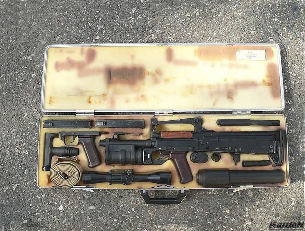 ОЦ-14 «Гроза» - российский штурмовой стрелково-гранатомётный комплекс