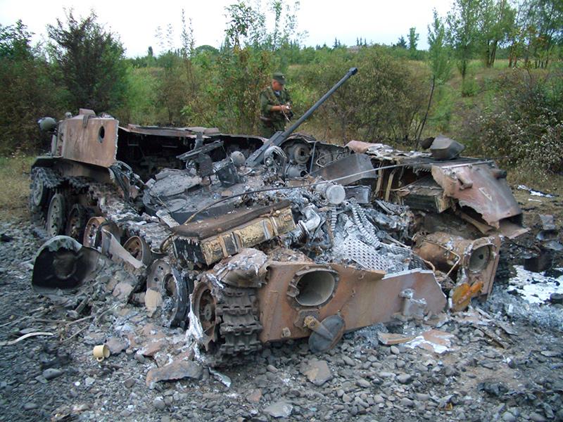 Уничтоженные БМД-2