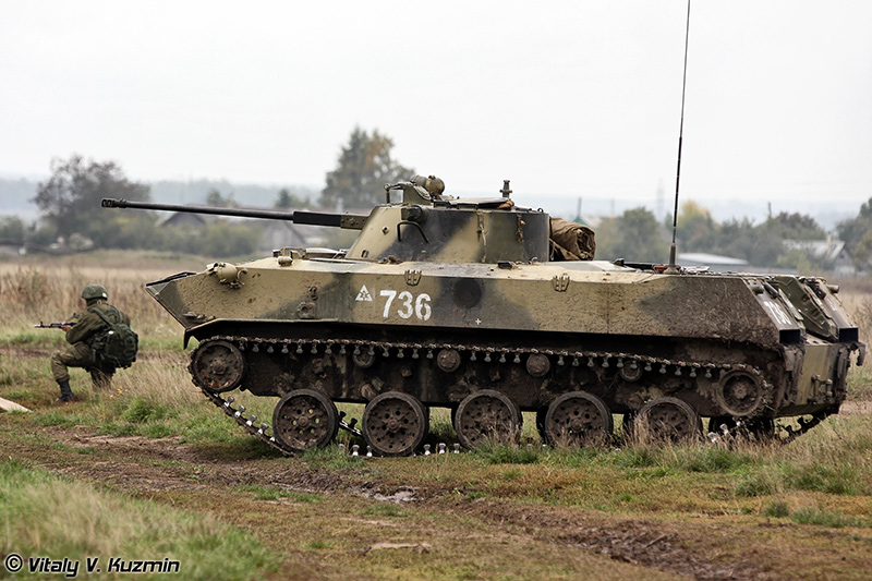 БМД-2 - боевая машина десантная