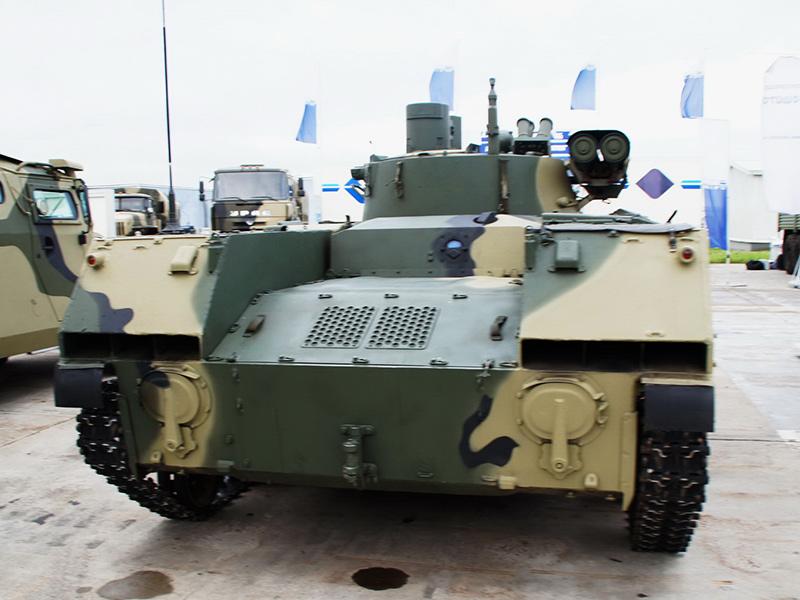 БМД-2М с комплексом вооружения 'Бережок'