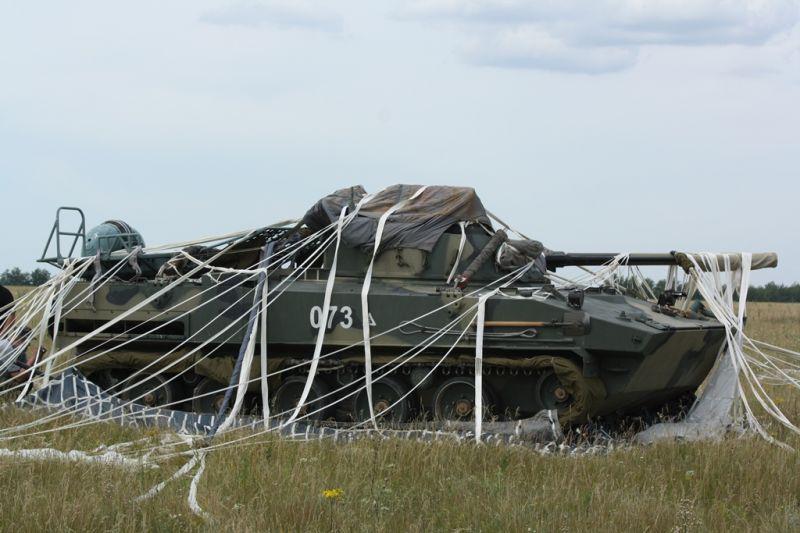 Десантирование БМД-4М