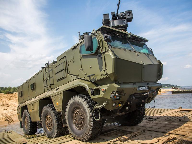 КАМАЗ-63968 «Тайфун-К» с Дистанционно Управляемым Боевым Модулем