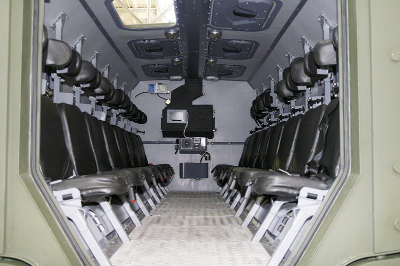 Десантное отделение КАМАЗ-63968 «Тайфун-К»