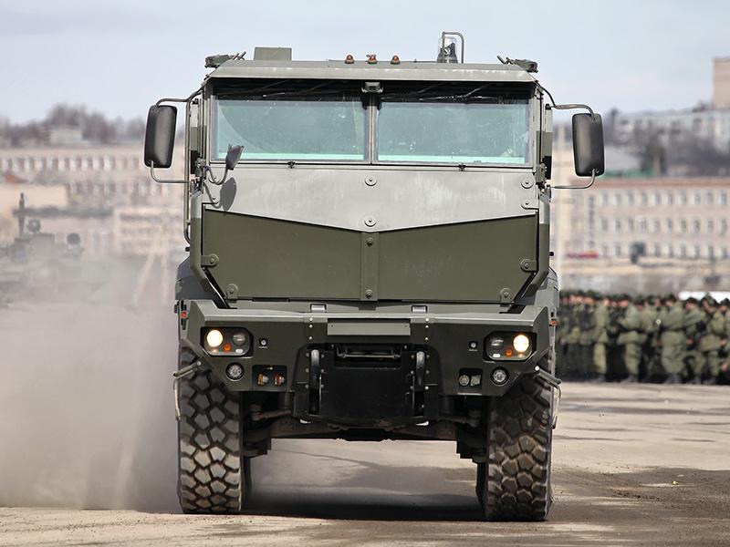 Бронеавтомобиль КАМАЗ-63968 «Тайфун-К»