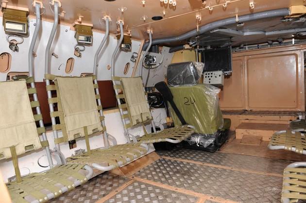 Десантное отделение БТР-4
