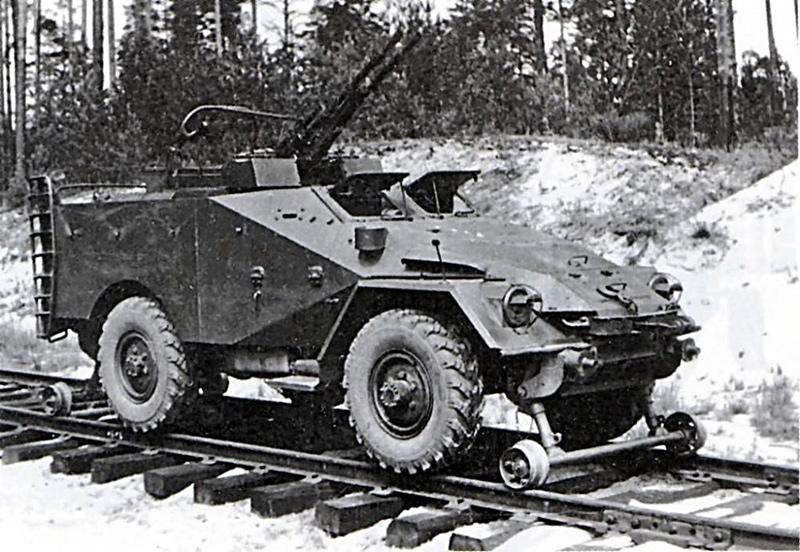 БТР-40А ж.д.