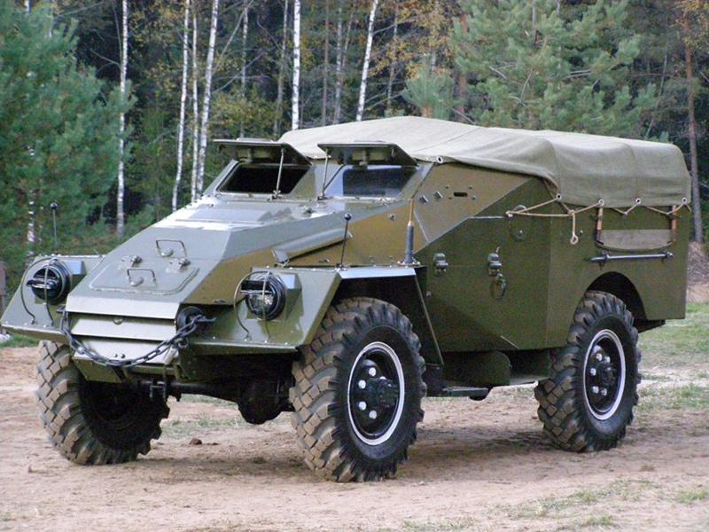 БТР-40 - бронетранспортер 1950-х годов