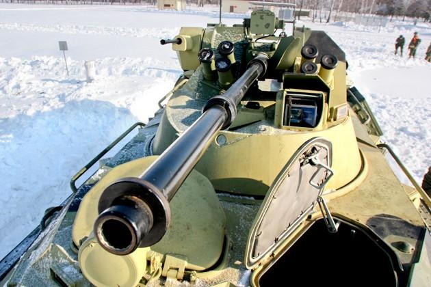 БТР-82А - модернизированный российский бронетранспортер