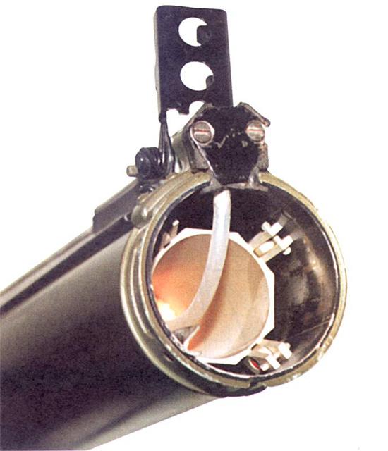 Ударный механизм и газовод РПГ-18