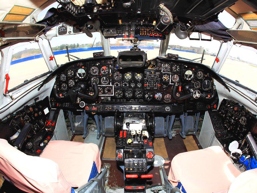 Кабина Ан-24