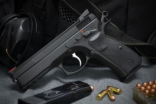 CZ75 SP-01 Shadow - спортивный пистолет